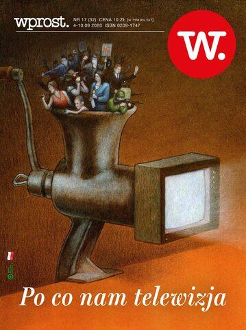 Okładka tygodnika Wprost nr 32/2020 (1948)