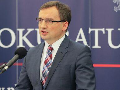 Ziobro: Będzie projekt ustawy o odpowiedzialności karnej podmiotów...