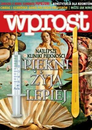 Okładka tygodnika Wprost nr 9/2005 (1161)