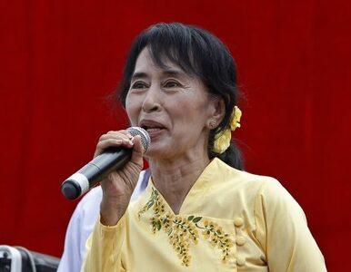 Birmańska noblistka zdobyła mandat więc... wyjedzie z kraju