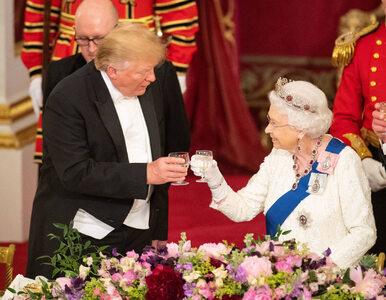 Co symbolizowała tiara królowej Elżbiety II? Trump nie byłby zadowolony