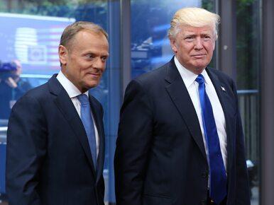 Przepychanka słowna Tuska i Trumpa. Poszło o wojnę handlową