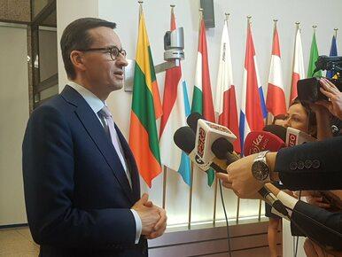 Ujawniono kulisy szczytu w Brukseli. Z kim rozmawiał premier Morawiecki?