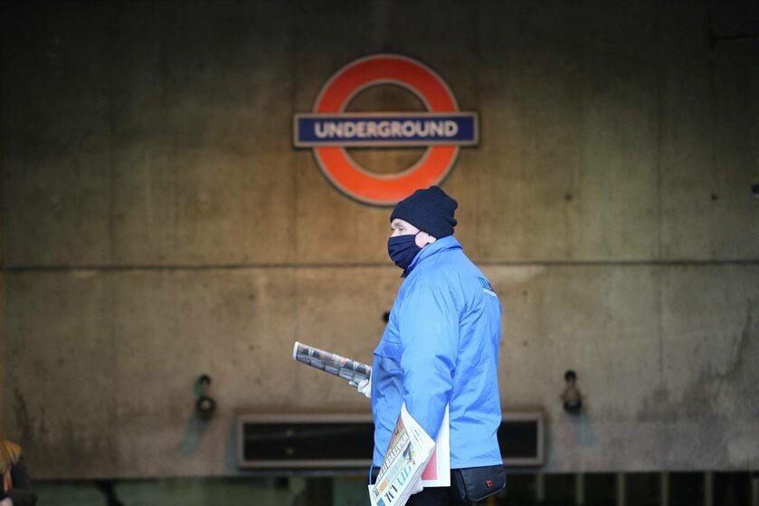 Londyn podczas epidemii koronawirusa