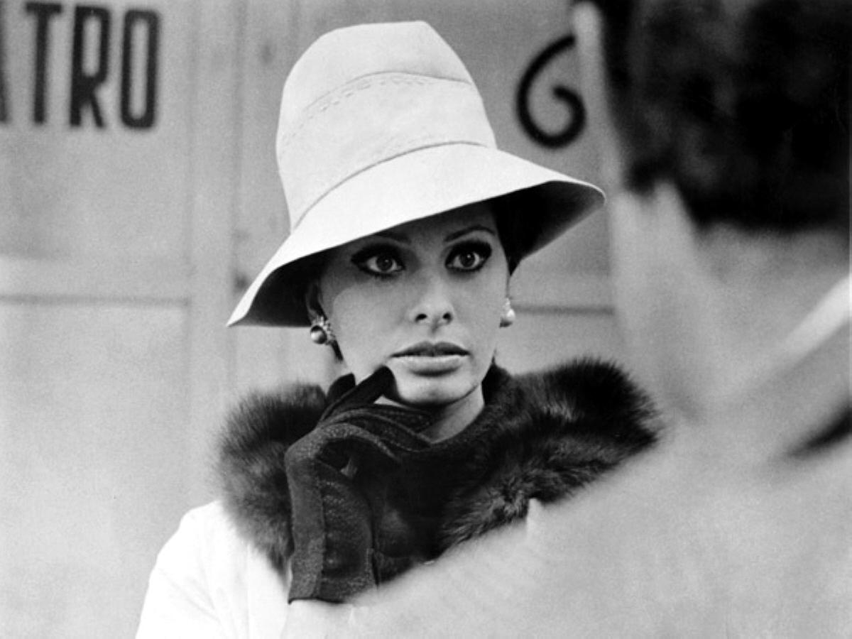"""Sophia Loren w filmie """"Wczoraj, dziś, jutro"""" (1963)"""
