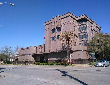 USA nakazały Chinom zamknięcie konsulatu w Houston, Pekin grozi odwetem....