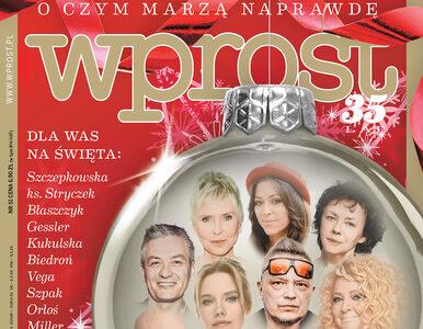 """Druga zmiana """"dobrej zmiany"""" i świąteczne marzenia Polaków. Co w nowym..."""