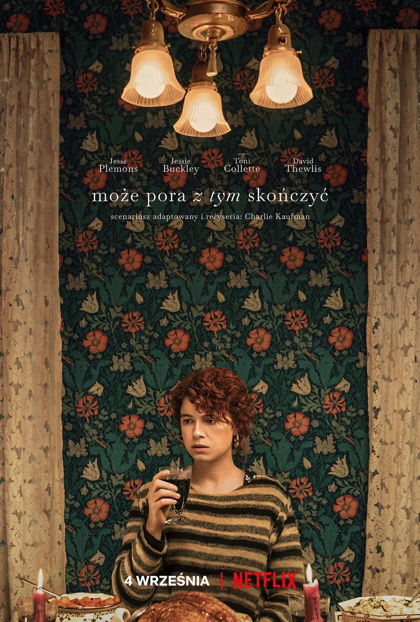 """Plakat filmu """"Może pora z tym skończyć"""""""