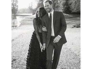 Pałac Kensington pokazał zdjęcia z zaręczynowej sesji księcia Harry'ego...