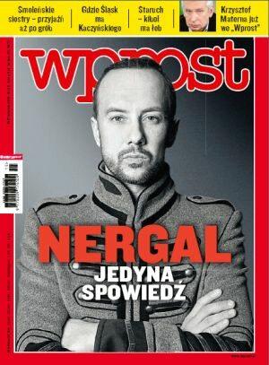 Okładka tygodnika Wprost nr 15/2011 (1470)