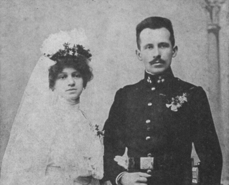 Emilia i Karol Wojtyłowie, rodzice papieża Jana Pawła II