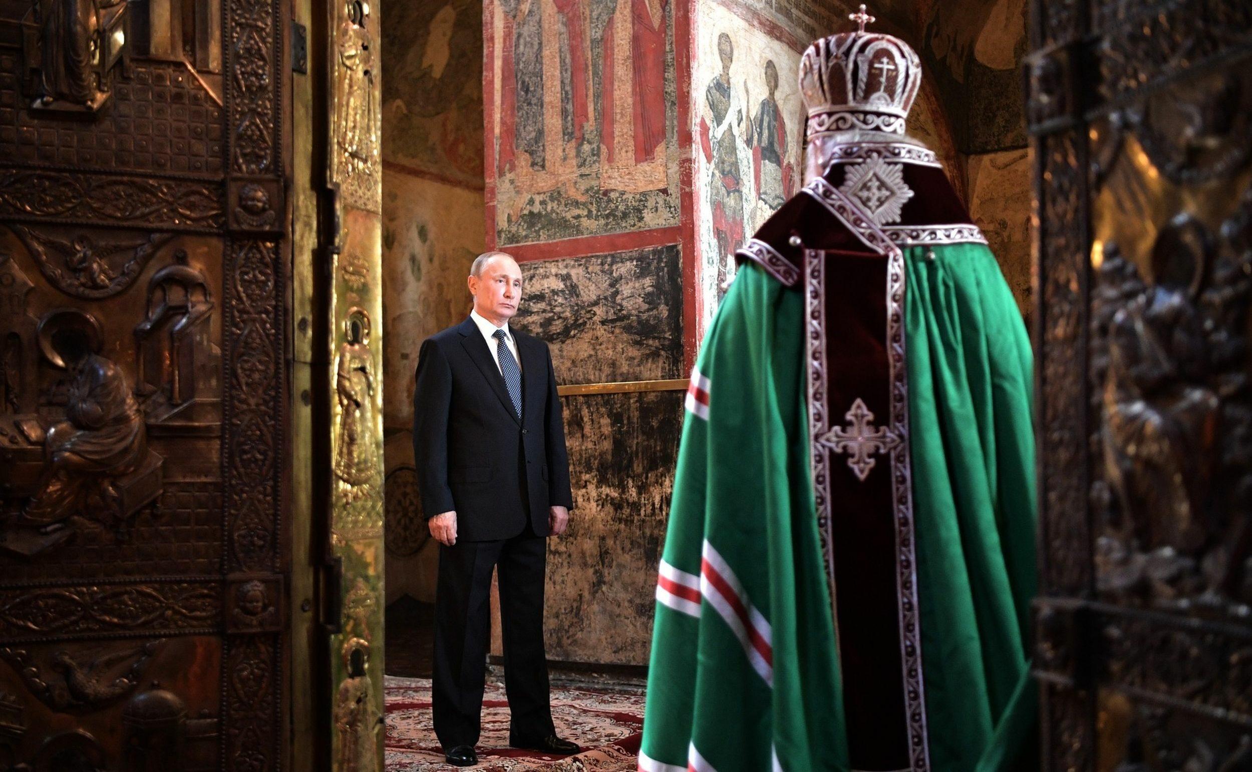 Inauguracja prezydentury Władimira Putina, 7 maja 2018 roku