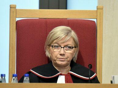 Trybunał Konstytucyjny orzekał w tym roku przez 13 dni. Przyłębska ma...