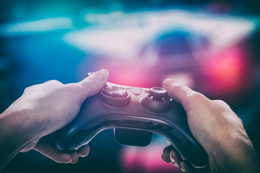 Granie w gry wideo