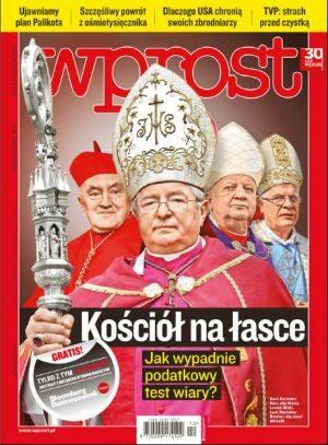 Okładka tygodnika Wprost nr 12/2012 (1518)