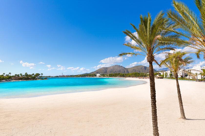 Plaża na Majorce