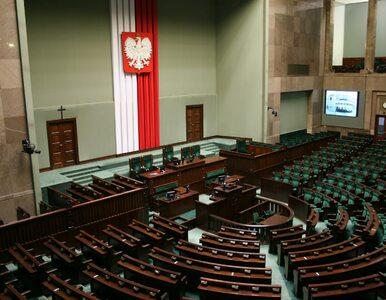Sejm zajmie się poselskim projektem ustawy o zmianie konstytucji