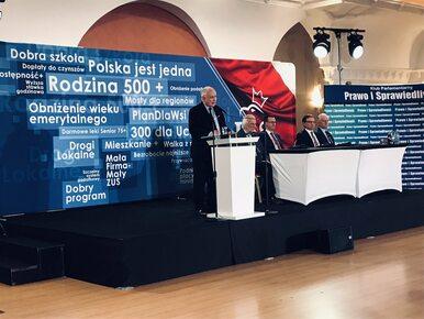 Komentarze po przemówieniu Jarosława Kaczyńskiego. Część...