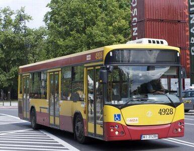 Warszawa: Autobusy będą jeździć pod prąd?