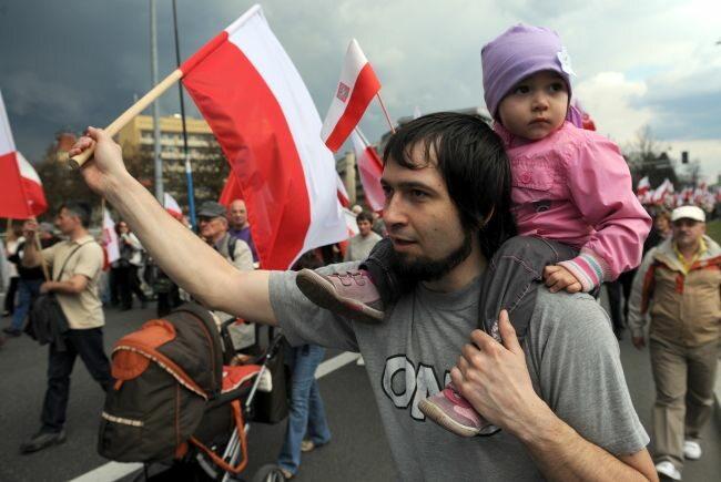 ...i młodsi... (fot. PAP/Grzegorz Jakubowski)