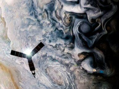 Jowisz w obiektywie sondy za miliard dolarów. NASA pokazała...