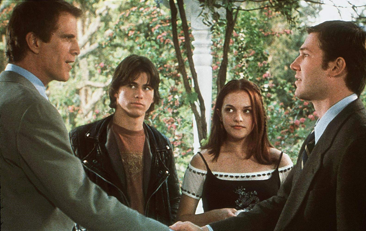 "Loren Dean, Ted Danson, Elisabeth Moss i Jason Ritter w ""Mumford"" (1999)"