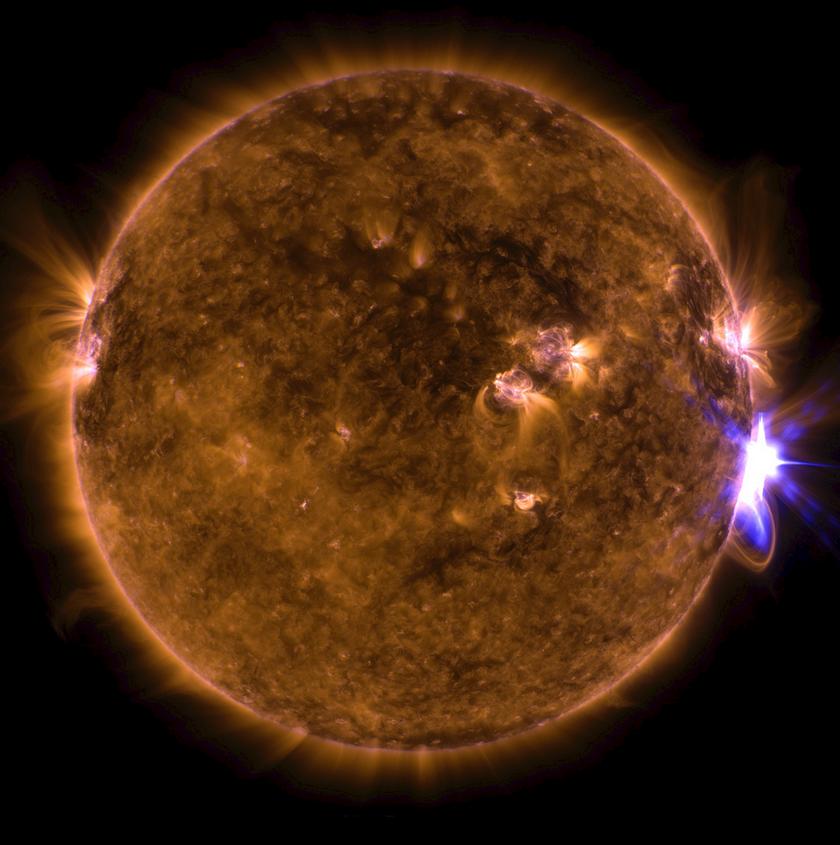 Słońce, zdjęcie ilustracyjne NASA