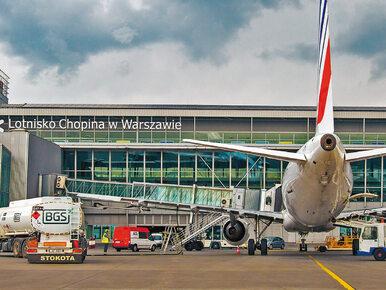 Ewakuacja na lotnisku Chopina w Warszawie