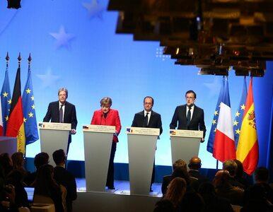 """Czwórka wersalska chce """"Europy różnych prędkości"""""""
