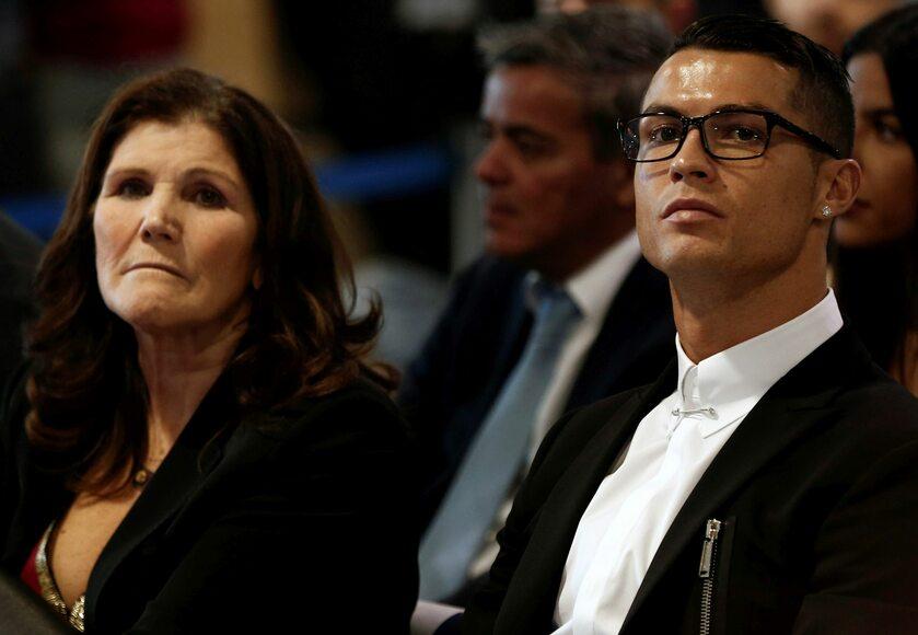 Dolores Aveiro i Cristiano Ronaldo