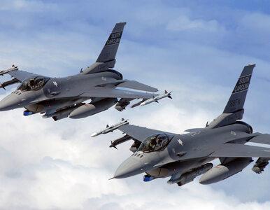 USA. Dwa myśliwce F-16 zderzyły się w powietrzu
