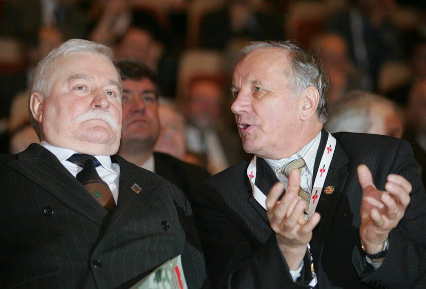 Lech Wałęsa i Jan Rulewski