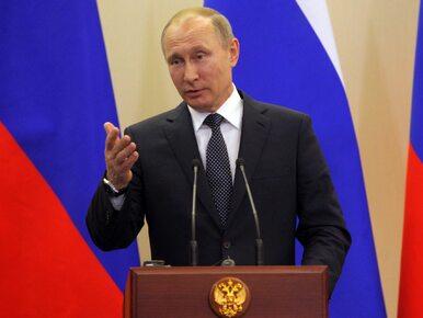 """Putin chwali Trumpa. """"Brak politycznego doświadczenia daje mu świeżą wizję"""""""