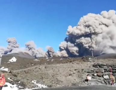 Trzęsienie ziemi w rejonie Etny. Ewakuowano około 600 osób