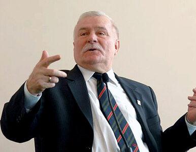 Wałęsa o Ukrainie: W taki sposób mogą sobie tylko guzów ponabijać