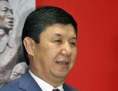 Dymisja premiera Kirgistanu. Powodem zarzuty korupcyjne