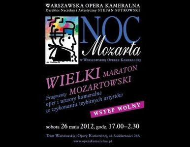 Noc z Mozartem w Warszawskiej Operze Kameralnej