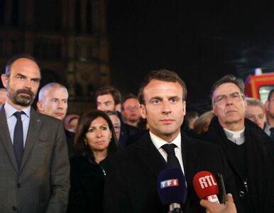 Macron w orędziu do narodu: Odbudujemy katedrę Notre Dame w ciągu pięciu...