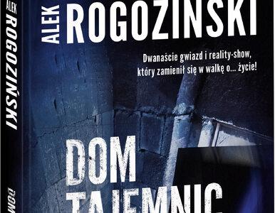 Alek Rogoziński powraca z nową książką. Celebryci w krzywym zwierciadle...