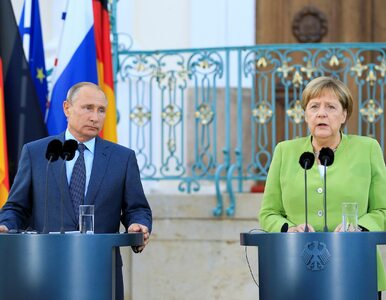 Putin i Merkel dalej będą wspierać Nord Stream 2. Mimo amerykańskich...