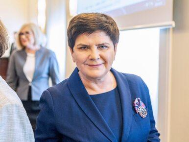 Beata Szydło o starcie do europarlamentu: To nie emerytura