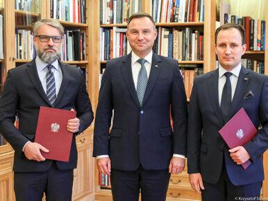 Prezydent Duda powołał dwóch nowych doradców. Czym będą się zajmować?