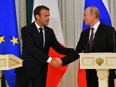 Macron wyłamuje się z bojkotu mundialu. Przyleci do Rosji na półfinał