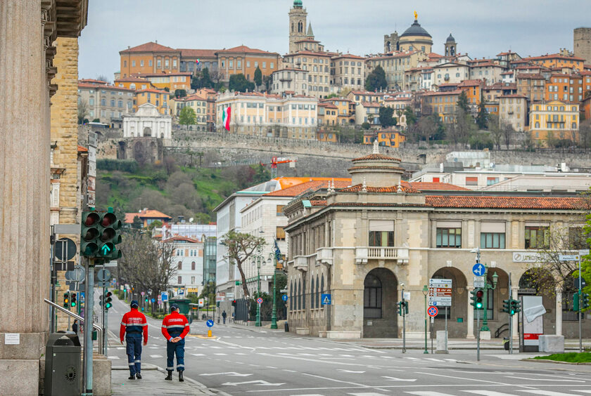 Ulice Bergamo
