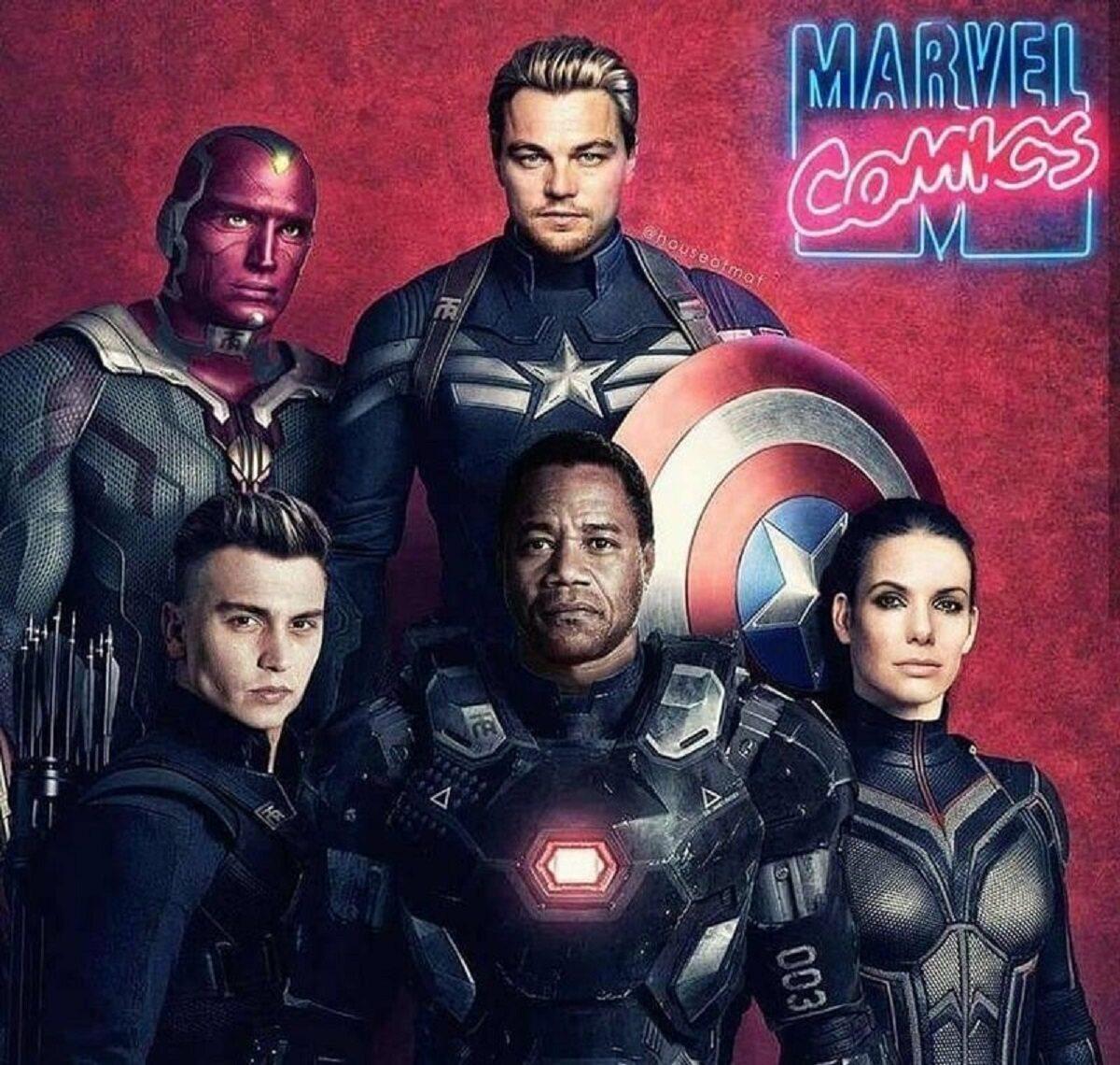 """Obsada """"Avengers"""", gdyby film powstał w latach 90-tych"""