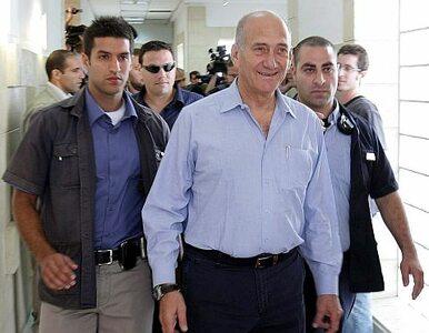 Były premier Izraela to oszust. Grozi mu pięć lat