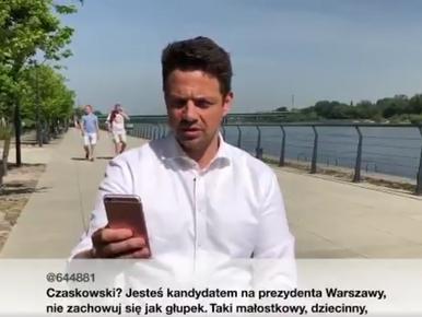 Trzaskowski jak Obama i Duda. Kandydat PO na prezydenta Warszawy czyta...