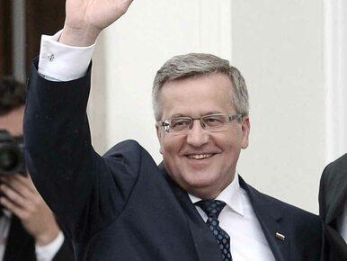 Komorowski o debacie prezydenckiej: Ręka boska mnie chroniła...