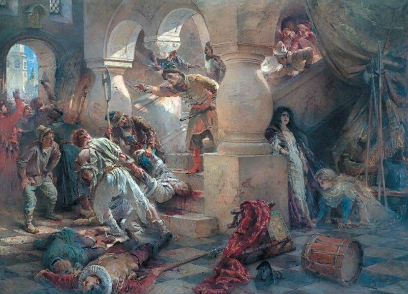 Zamordowanie Dymitra Samozwańca