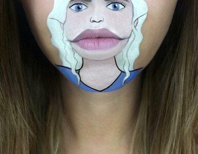 Jej makijaż czyni cuda. Poznajecie te postaci?